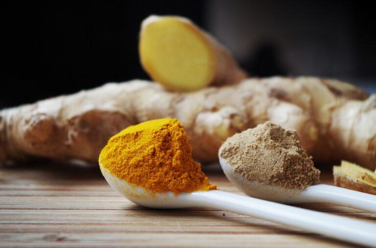 ginger, powder, cooking